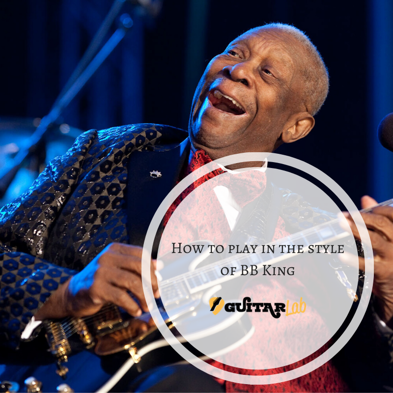 how to play in the style of BB king
